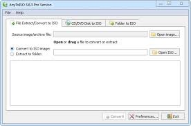 AnyToISO Pro 3.8.0 Build 560 Crack + License Key Download