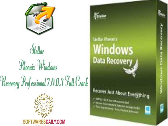 Stellar Phoenix Windows Recovery Professional 7.0.0.3 Full Crack
