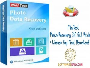 MiniTool Photo Recovery 3.0 Full Patch + License Key Final Download