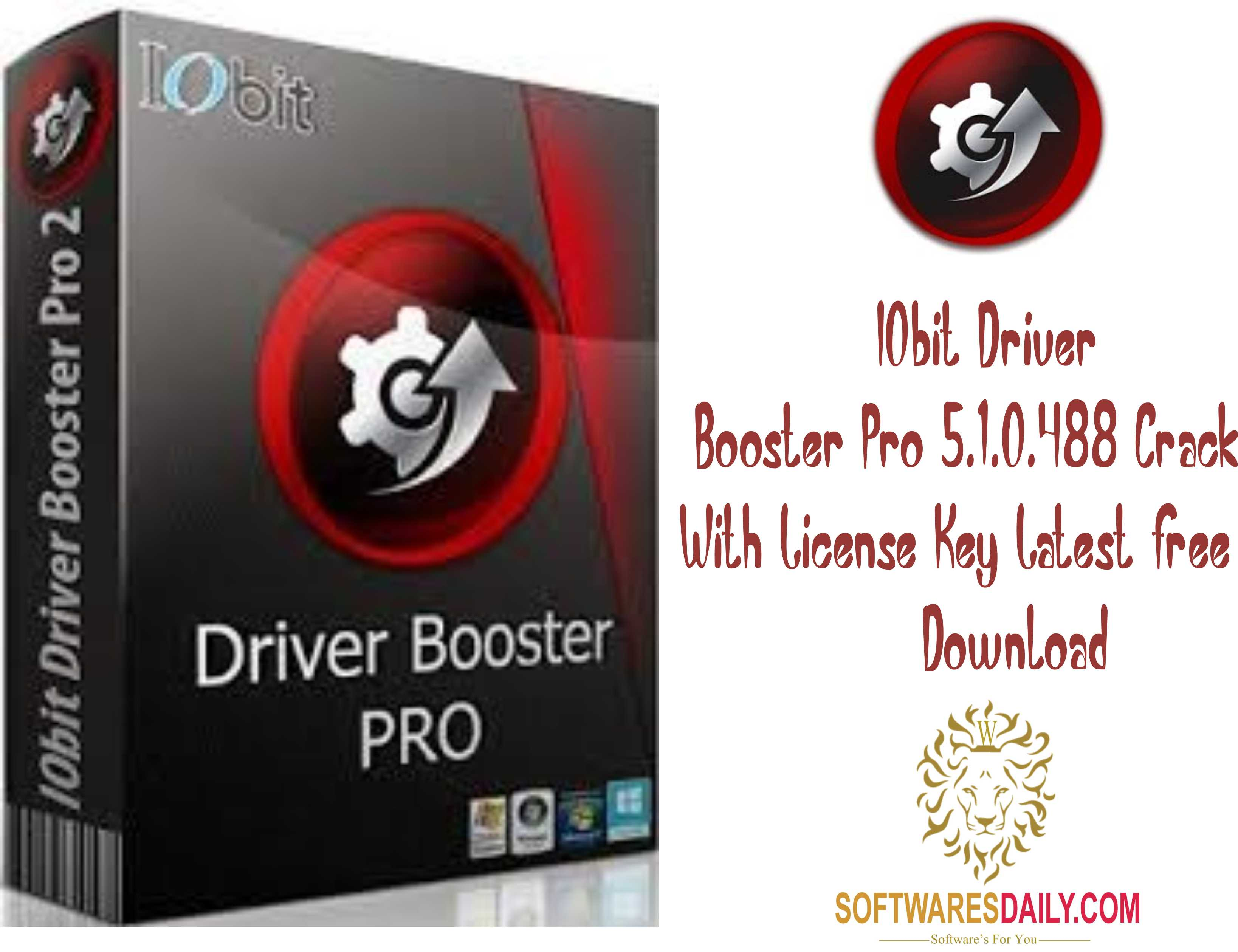 IObit Driver Booster Pro 5.1.0.488 Crack With License Key Latest Free Download
