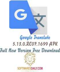Google Translate 5.13.0.RC07.1699 APK Full New Version Free Download