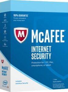 McAfee Internet Security 2018 Crack & License Key Download