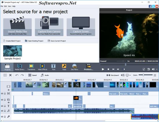 AVS Video Editor Key