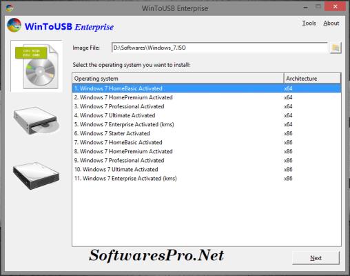 WinToUSB Enterprise 4.1