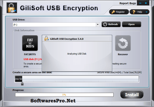 Gilisoft USB Encryption Key