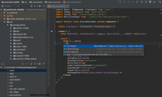 JetBrains WebStorm 2018.2.5 Crack