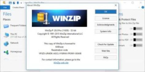 winzip crack code