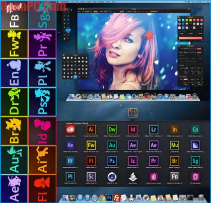 Adobe CC Creative Cloud Universal Crack Mac