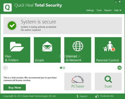 Quick Heal Total Security Keygen
