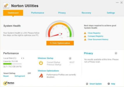 Symantec Norton Utilities Key