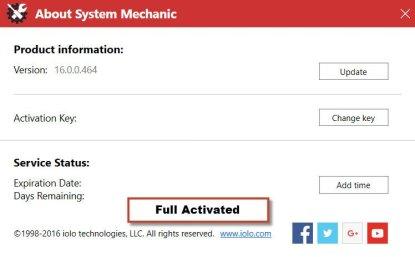 System Mechanic Pro 16.5. Activation Key