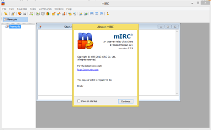 mIRC Serial Key