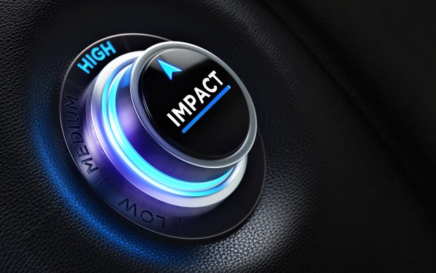 Finance And Investment Concept - Button On A Car Dashboard