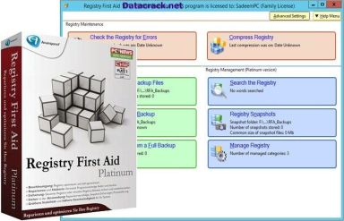 Registry First Aid Platinum 11.3.0 Build 2581 with Crack Serial Key Free Download