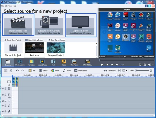video editing software free download full version with key
