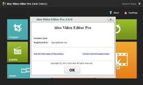 idoo Video Editor Pro 3 Crack + Keygen Key Free Download