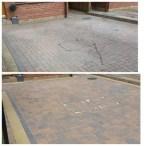 www.softwashscotland.com Mono Block Driveway Slab Patio Area's Cleaning Bathgate West Lothian softwash scotland