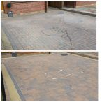 www.softwashscotland.com Mono Block Driveway Slab Patio Area's Cleaning Bathgate West Lothian softwash scotland