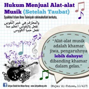 Musik adalah Khamar Jiwa