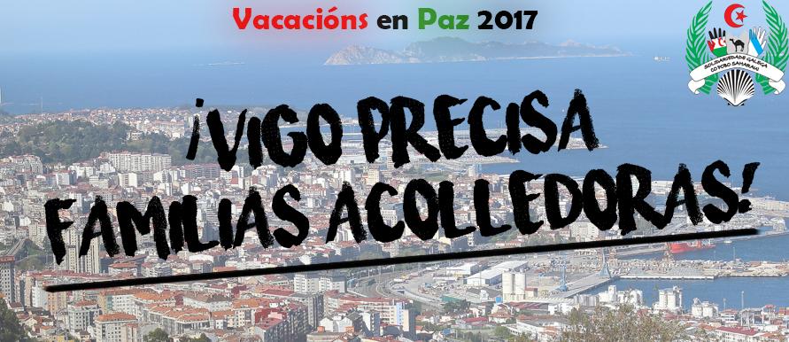 Vigo necesita familias acogedoras