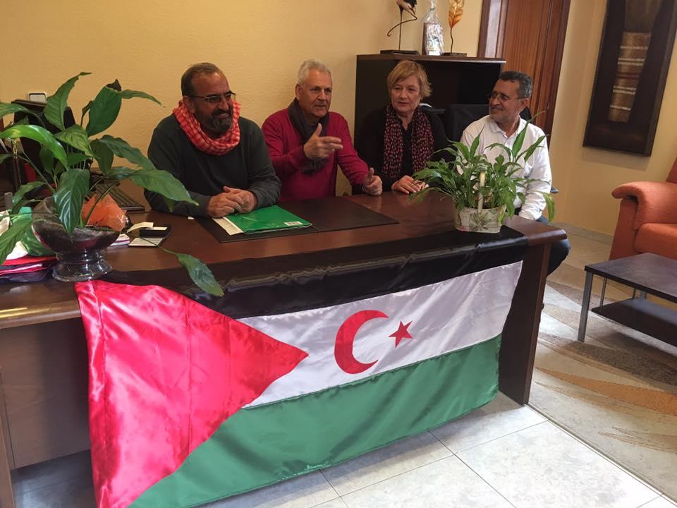 Rueda de Prensa de los observadores Internacionales de Sogaps en Rabat por el Gdeim Izik