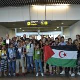 Llegan los niños y niñas de Vacaciones en Paz a Galicia