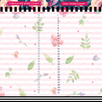Botanical A5 Filofax Printable