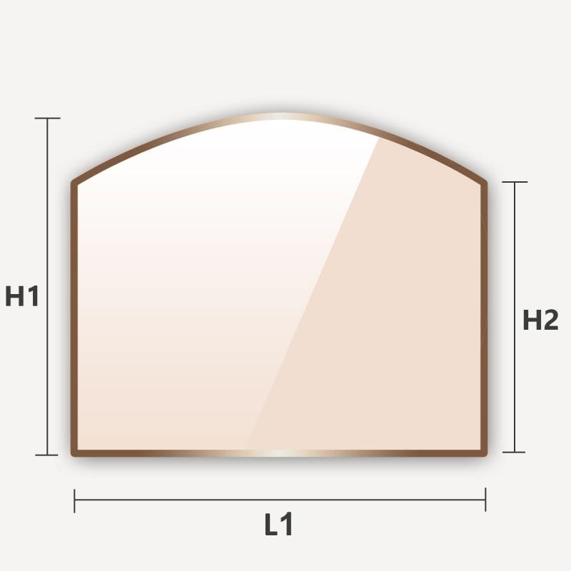 verre vitroceramique arche haut