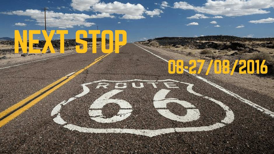 Dall'8 al 27 agosto saremo negli USA, dove percorreremo in auto la Route 66. Seguite l'organizzazione del viaggio passo dopo passo, aiutateci a scegliere le mete e venite con noi alla scoperta della madre di tutte le strade! Coming Soon!