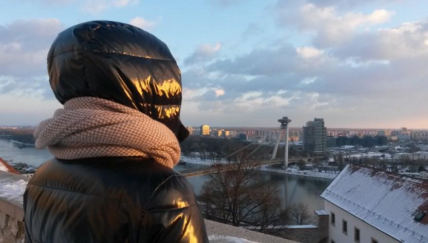 Una giornata al freddo e al gelo per le vie di Bratislava