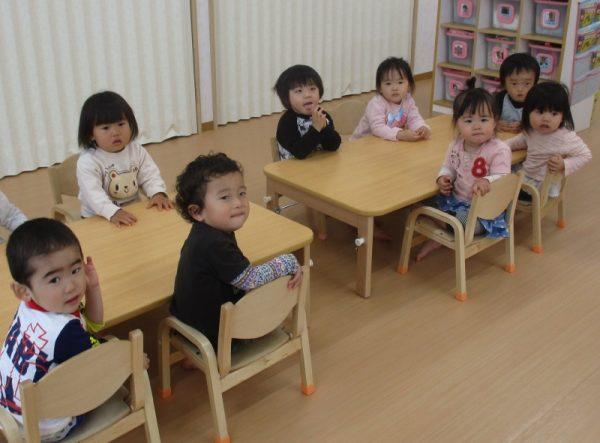 保育園 そら組さん(2歳児)