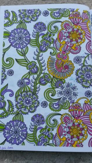 Coloriage pour adulte anti stress