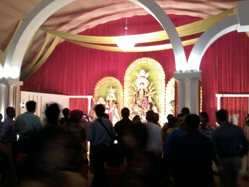 Durga Pujo 2014 @ Jamshedpur - Maha Saptami (4/5)