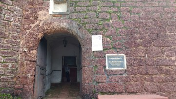 Entrance of Fort