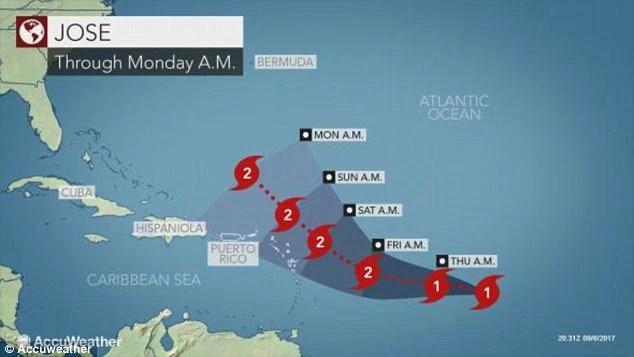 Bộ ba siêu bão đang hoành hành dữ dội trên Đại Tây Dương - Ảnh 2.