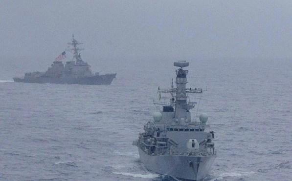 Sau Mỹ, quân đội EU không ngại đối đầu với Trung Quốc ở Biển Đông?