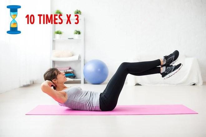 Xấu hổ vì bụng tích đầy mỡ: Đừng bỏ qua bài tập đánh tan mỡ bụng hiệu quả ngay tại nhà - Ảnh 2.