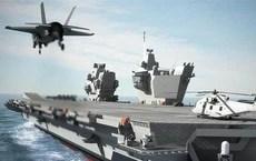 Thách thức tuyên bố bất hợp pháp của TQ, Anh sẽ điều tàu sân bay lớn nhất tới Biển Đông