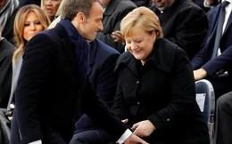 """Thủ tướng Đức gặp tình huống khó xử """"đứng hình"""" với Tổng thống Pháp"""