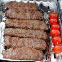 Kebab med kjøttdeig - kebab koobideh
