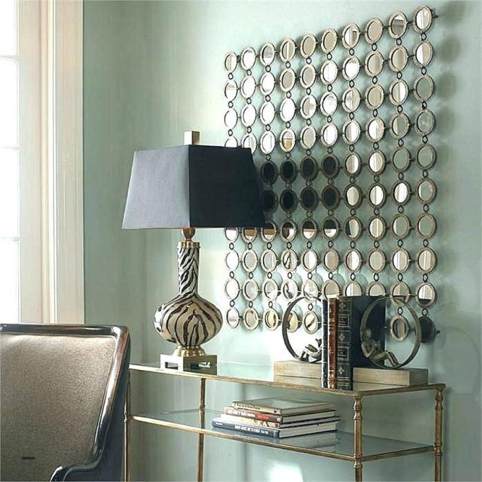stylish mirrored wall art