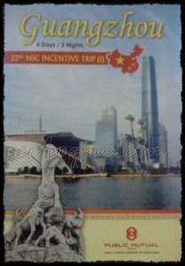 23rd NSC incentive trip to guangzhou china