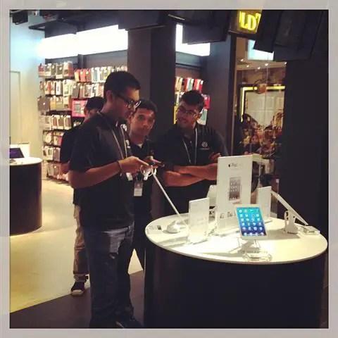 Wifi percuma di kedai Apple Mac