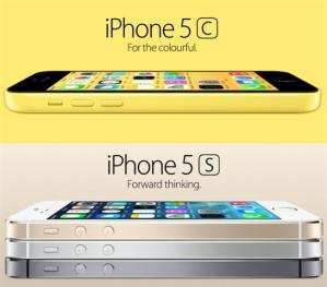 iphone 5s dan iphone 5c
