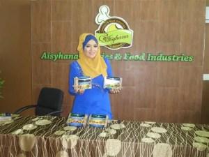 CEO Aisyhana cookies & food industries