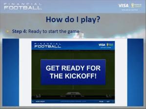 sedia untuk main visa financial football
