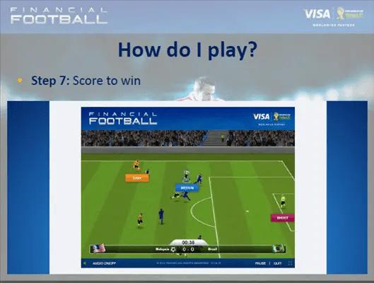 jaring gol visa financial football