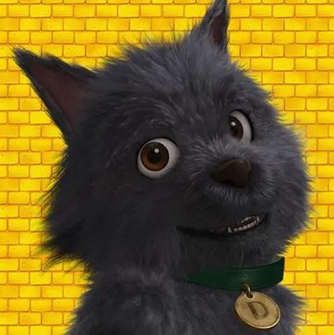 Toto, anjing peliharaan Dorothy yang bijak