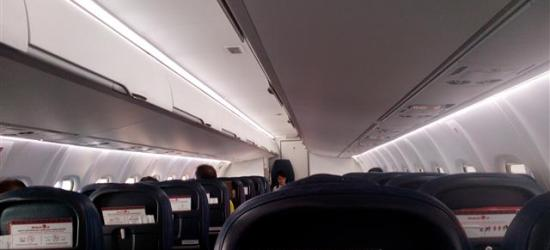 ruang dalam pesawat Malindo Air