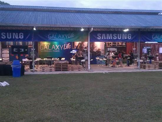 Booth Samsung
